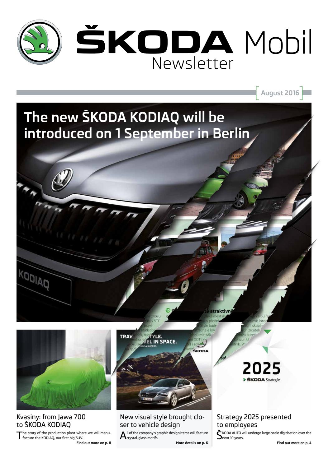 SKODA Mobil Newsletter by Tomas Novotny issuu