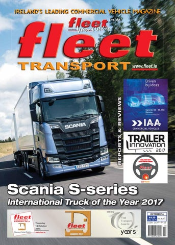 f9fcc66062 Fleet transport Oct 2016 by Fleet Transport - issuu