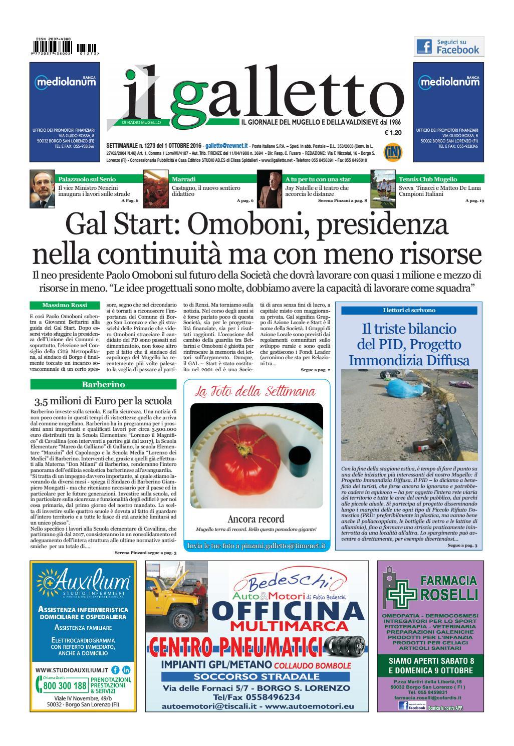 Galletto 1273 Del 1 Ottobre By Il Galletto Giornale Issuu