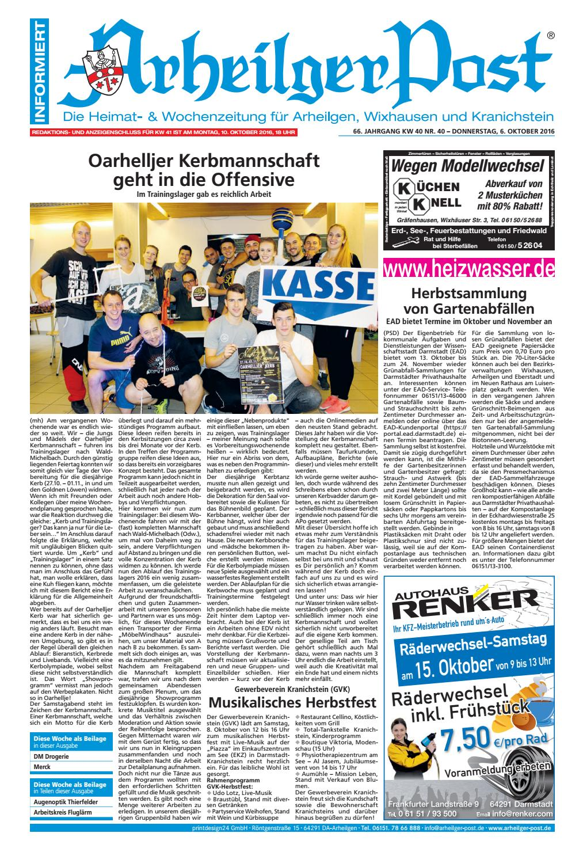 Arheilger Post KW40 by printdesign24gmbh - issuu