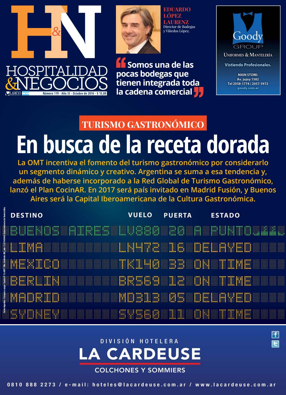 Hospitalidad y Negocios Nº 119 by La Agencia de Viajes - issuu