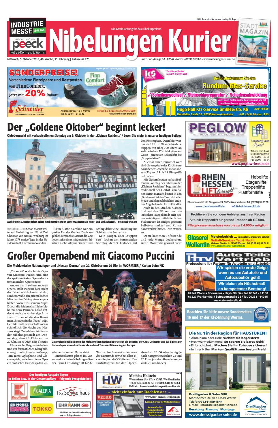 40mi16 nibelungen kurier by nibelungen kurier issuu. Black Bedroom Furniture Sets. Home Design Ideas