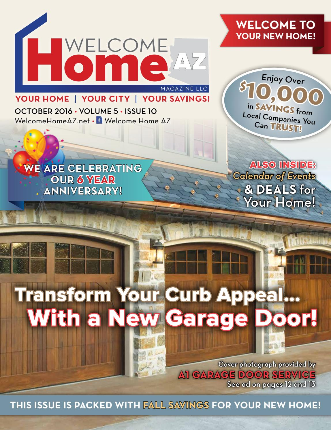 Welcome home az by misty voitovski issuu for Garage appeal coupon code