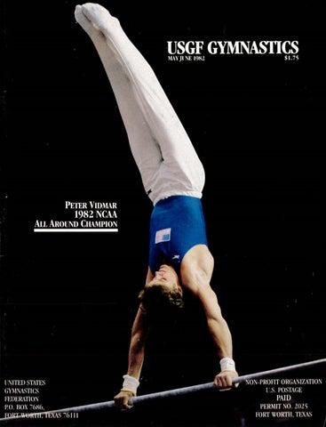 usgf gymnastics may june 1982 by usa gymnastics issuu rh issuu com Cheer Coach Gymnastics Coach Karolyi