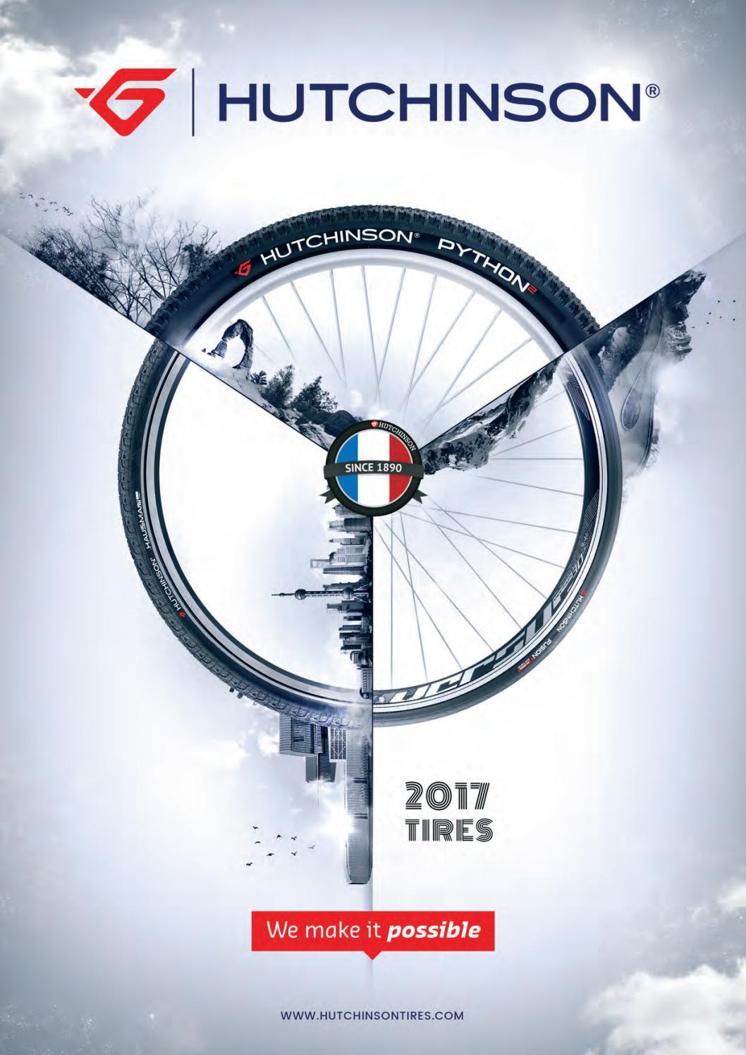 /Hutchinson Neum/ático Gila Flexible Tubeless Ready 29x2 2017