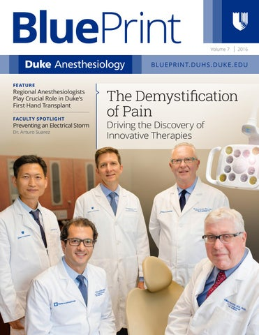 2016 blueprint by duke anesthesiology issuu page 1 blueprint malvernweather Image collections