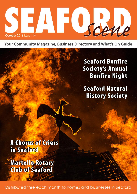Seaford Scene October 2016 By Fran Tegg Issuu