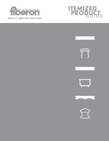 Fiberon Itemized Product Guide by TimberTown - issuu
