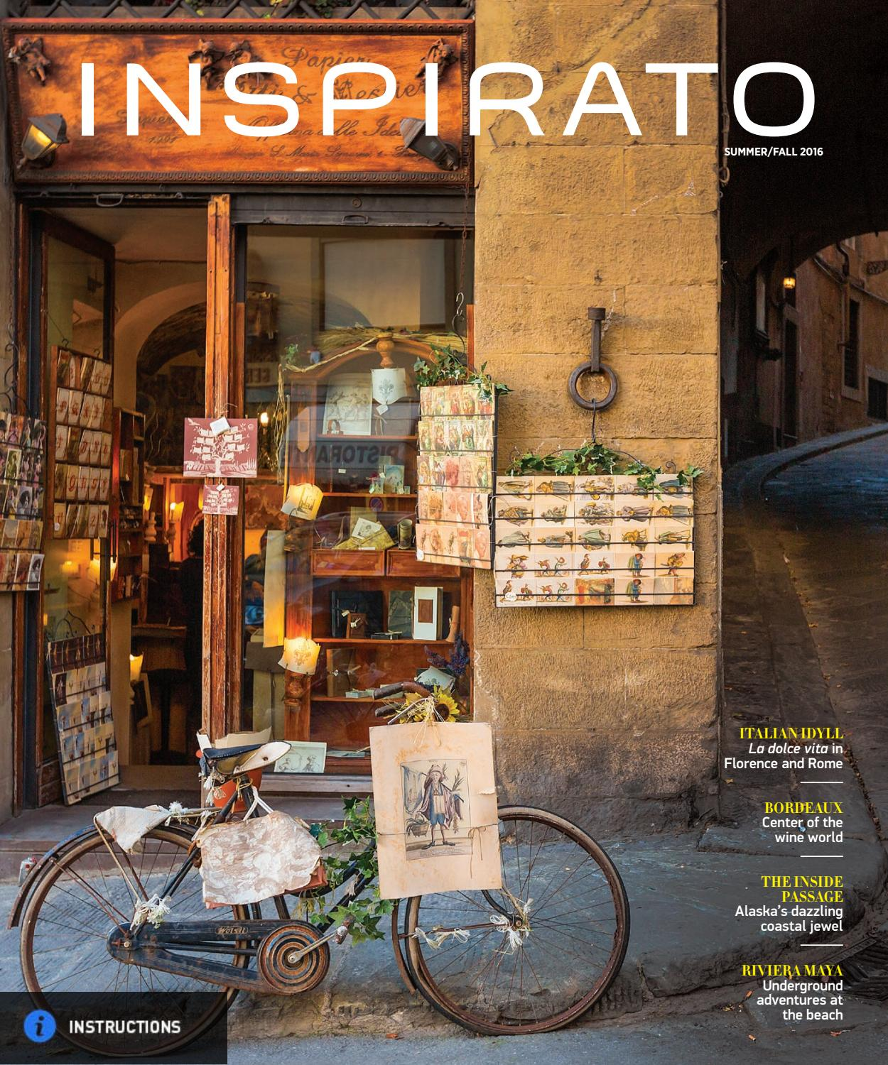 e9ca7f7413e4 Inspirato Summer Fall 2016 by Inspirato - issuu