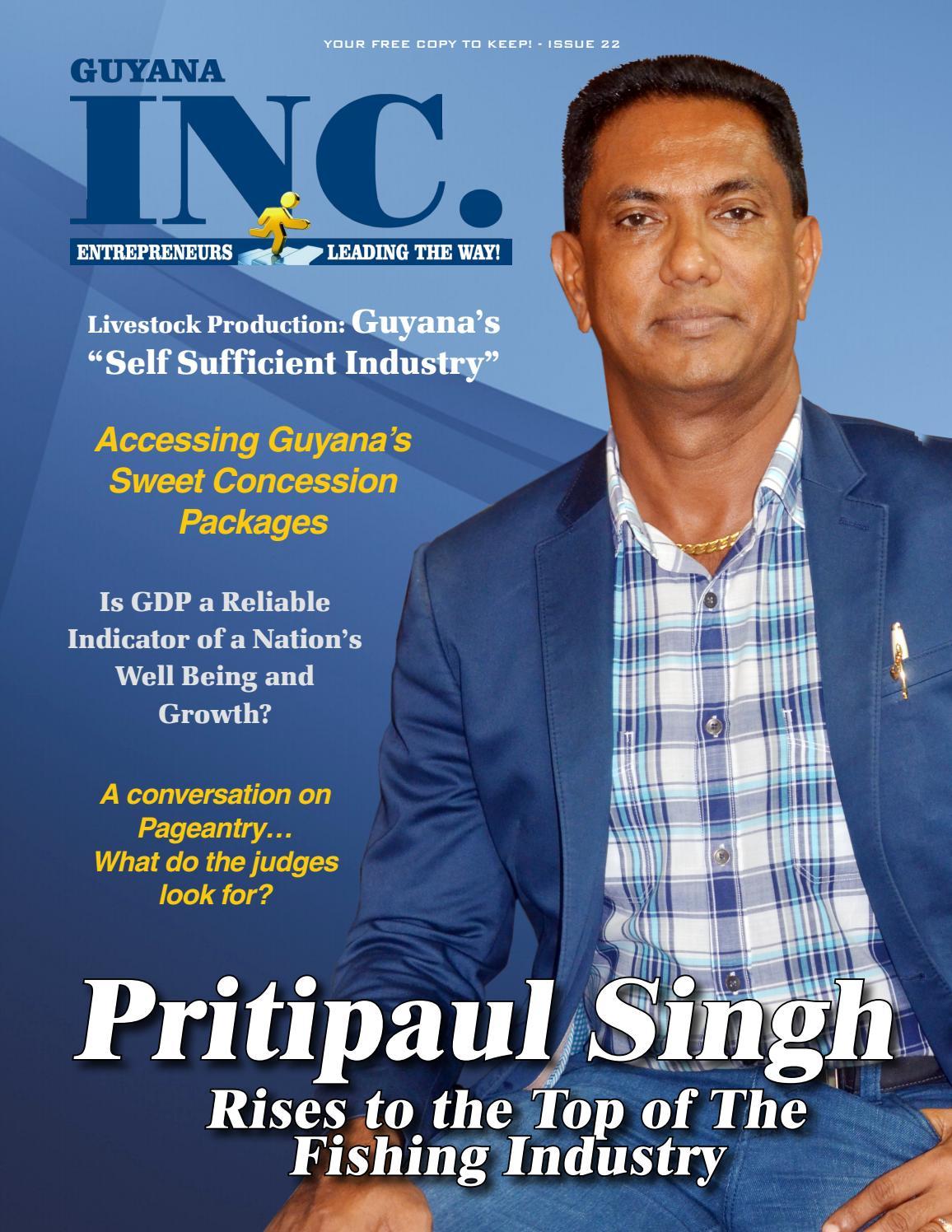 Guyana Inc Magazine Issue 22 by Frank Sanichara - issuu