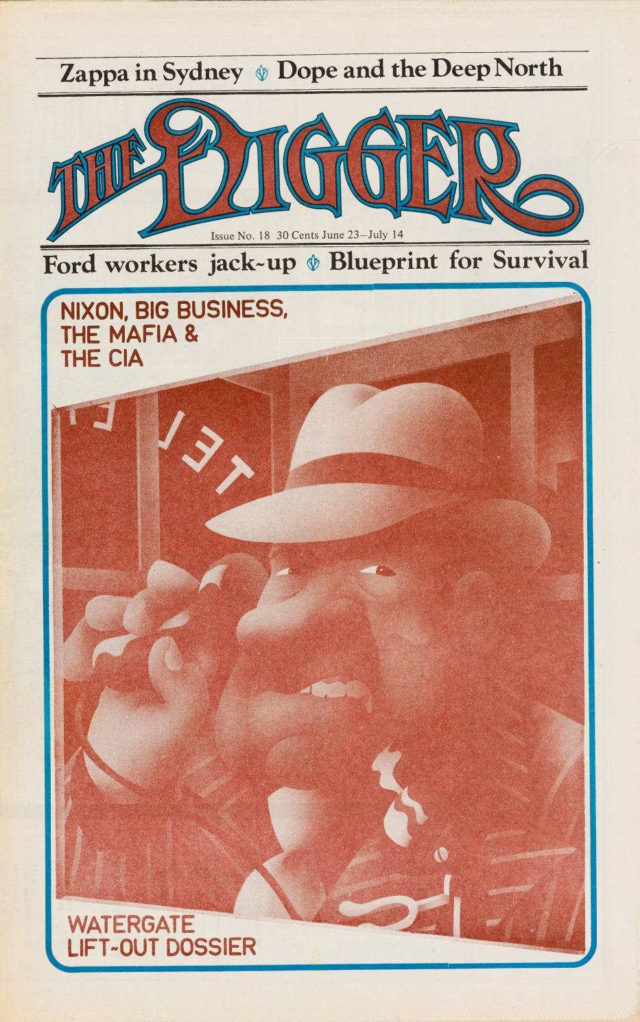 The digger no18 june july 1973 by uow library issuu malvernweather Gallery