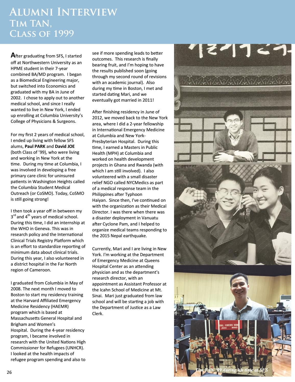 The Banner - October 2016 by Seoul Foreign School - issuu