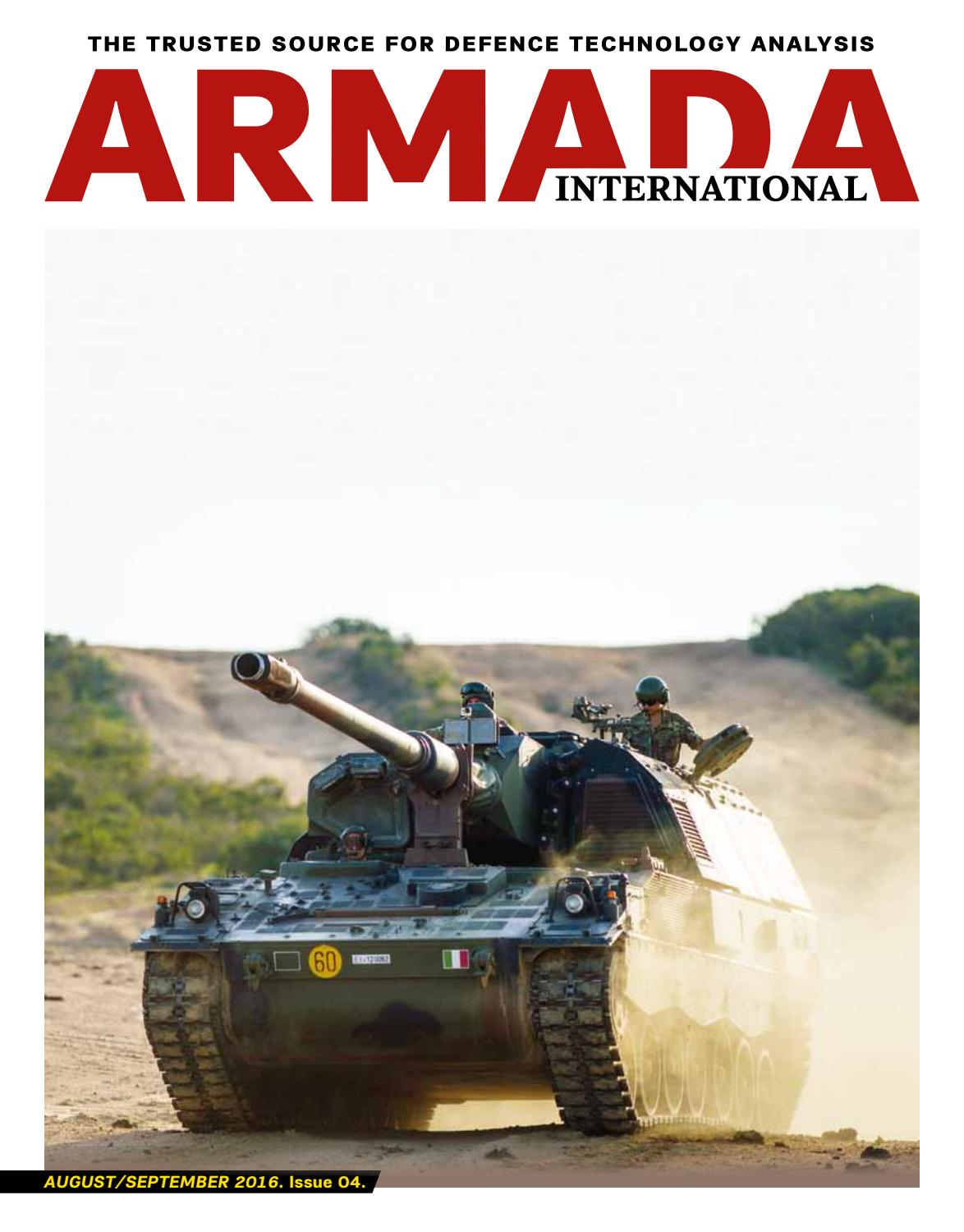 Armada International August September 2016 By Full Width Axles Yj 40s Asian Military Review Issuu