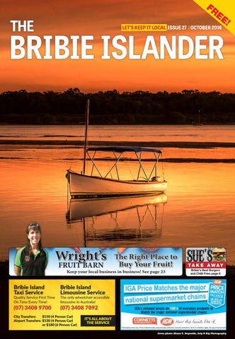 The Bribie Islander October Issue By The Bribie Islander - Decals for boats australiaboat wrapsbonza graphics australia