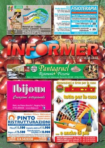 super popular bba9e 86d42 INFORMER ottobre 2016 by informer - issuu