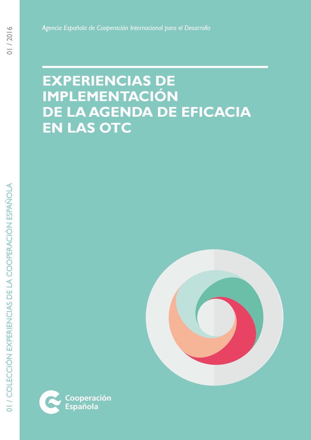 Experiencias de implementación de la agenda de eficacia en las OTC ...