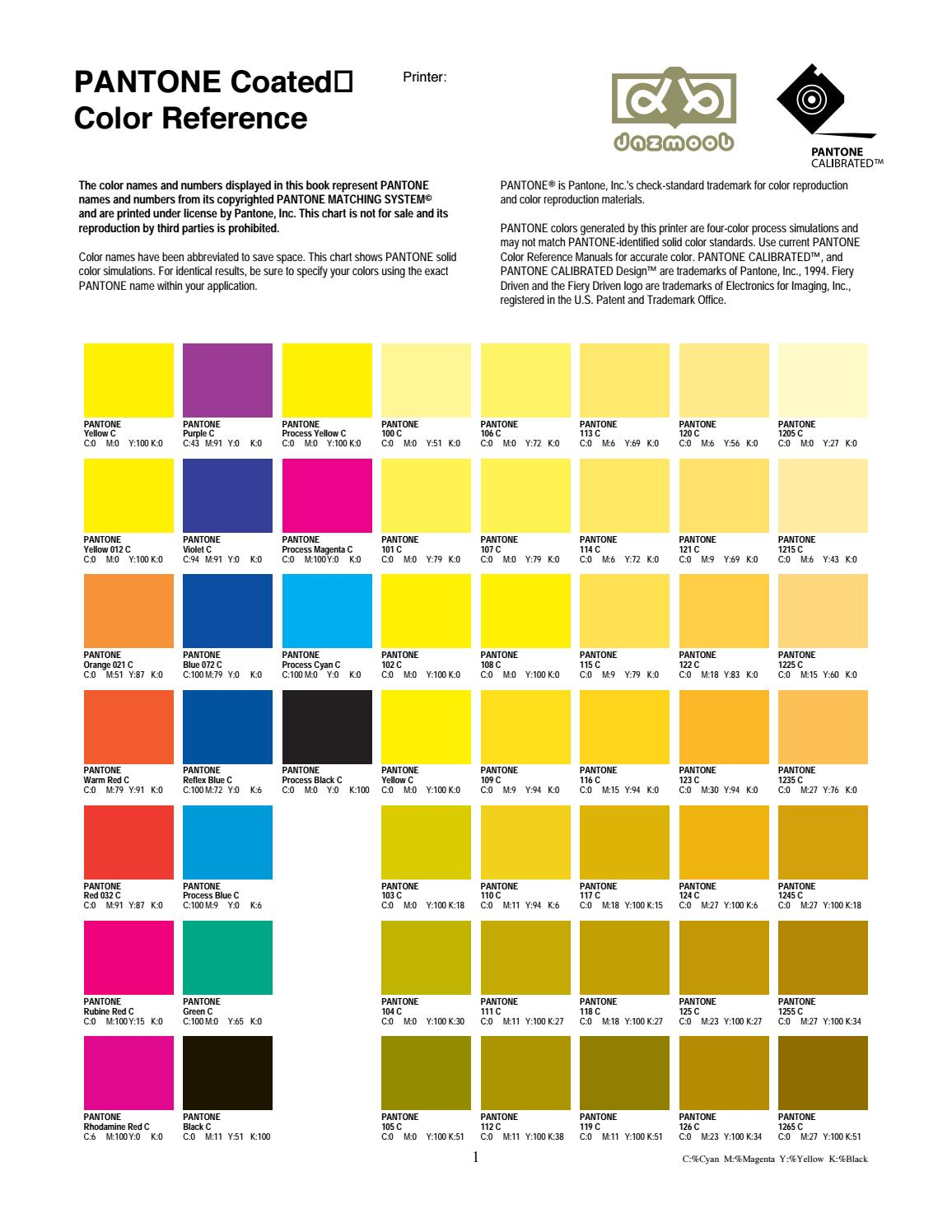 Pantone coated color reference by artcorner issuu nvjuhfo Gallery