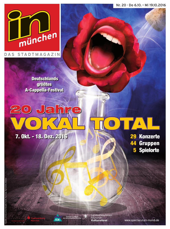 in münchen - Das Stadtmagazin Nr. 20/2016 by InMagazin Verlags GmbH ...
