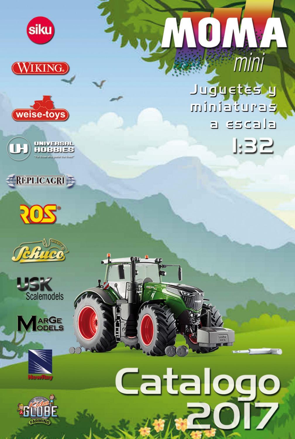 Siku Farmer 3660 tractor con quitanieves modelo 1:32
