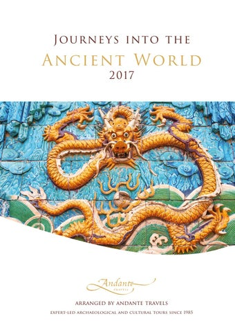 Andante Travels 2017 Main Brochure UK by Specialist Journeys - issuu 752e1bd1e6c