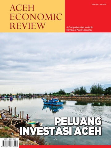 Aceh Economic Review Edisi II Juli - September 2016