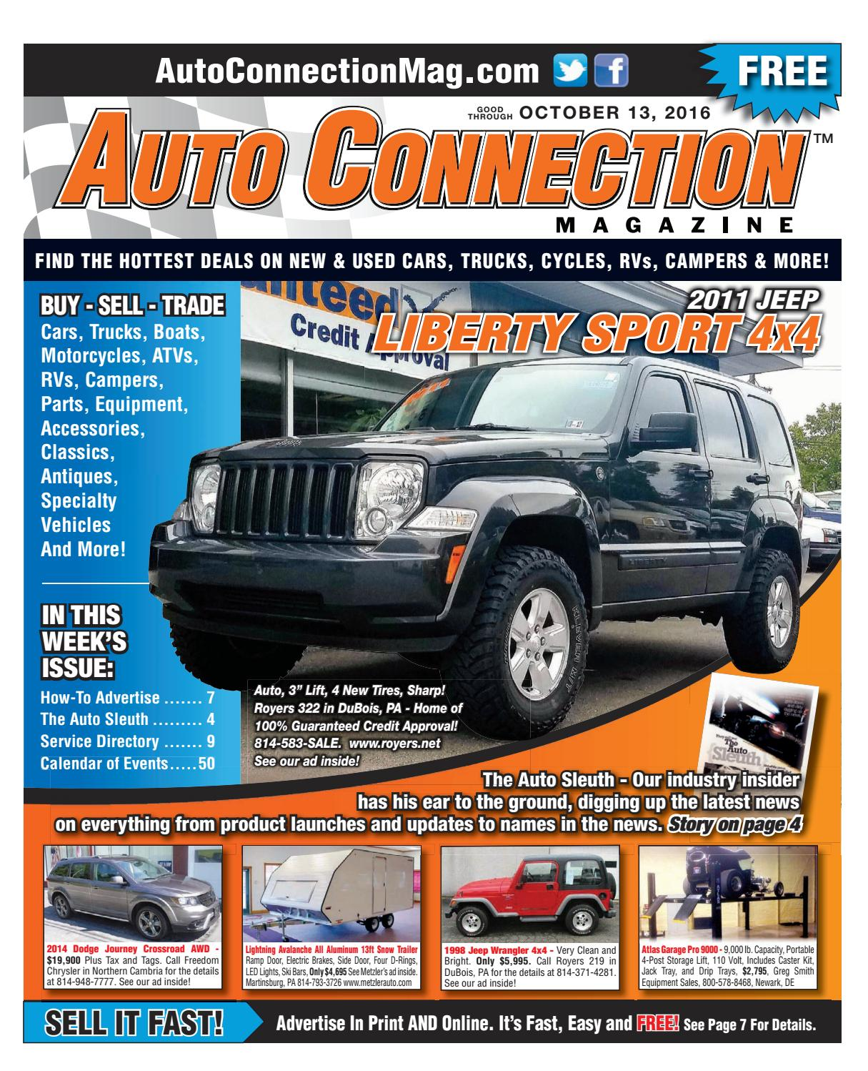 10-13-16 Auto Connection Magazine by Auto Connection Magazine - issuu