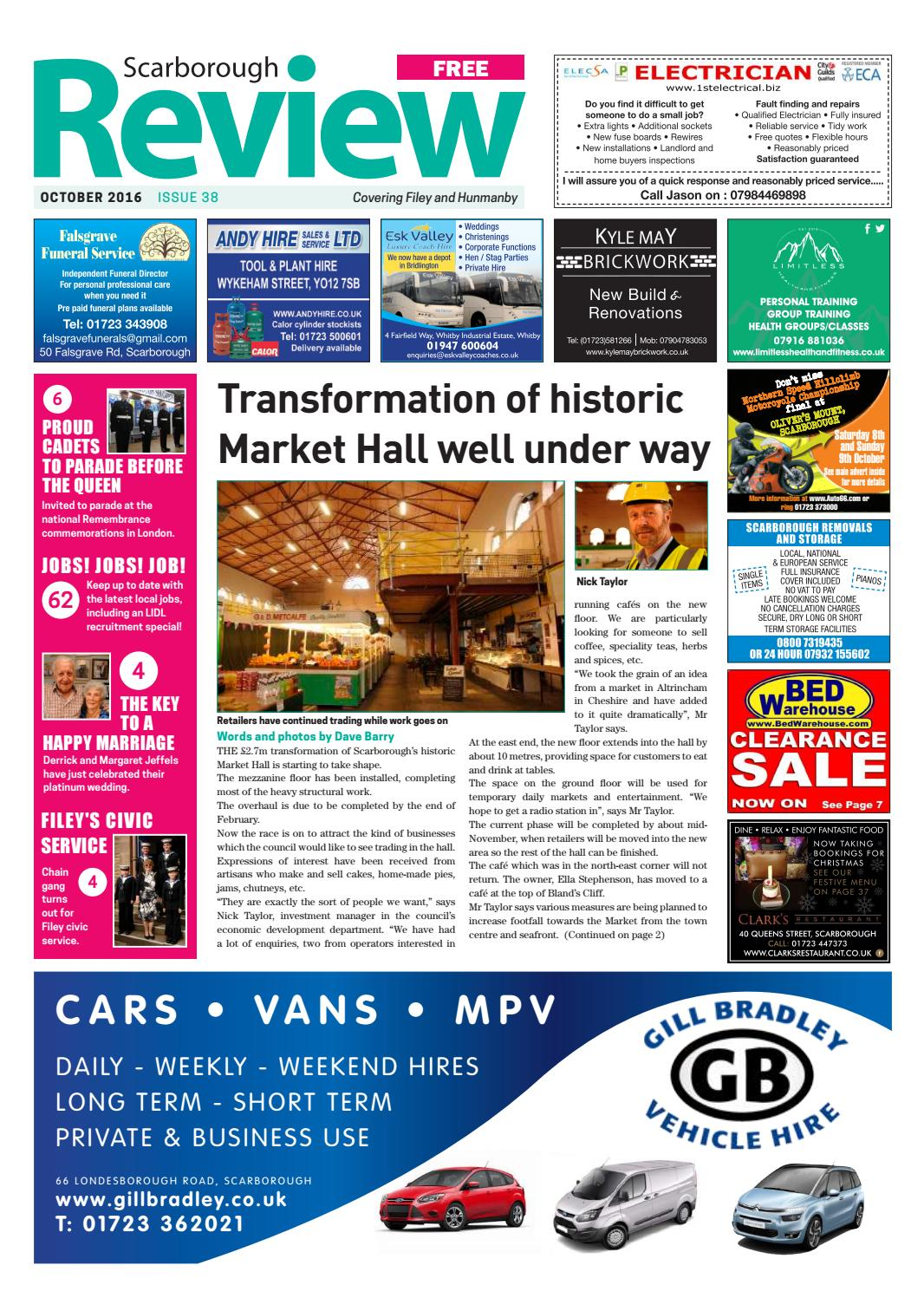 Scarborough Review October 2016 By Your Local Link Ltd Issuu