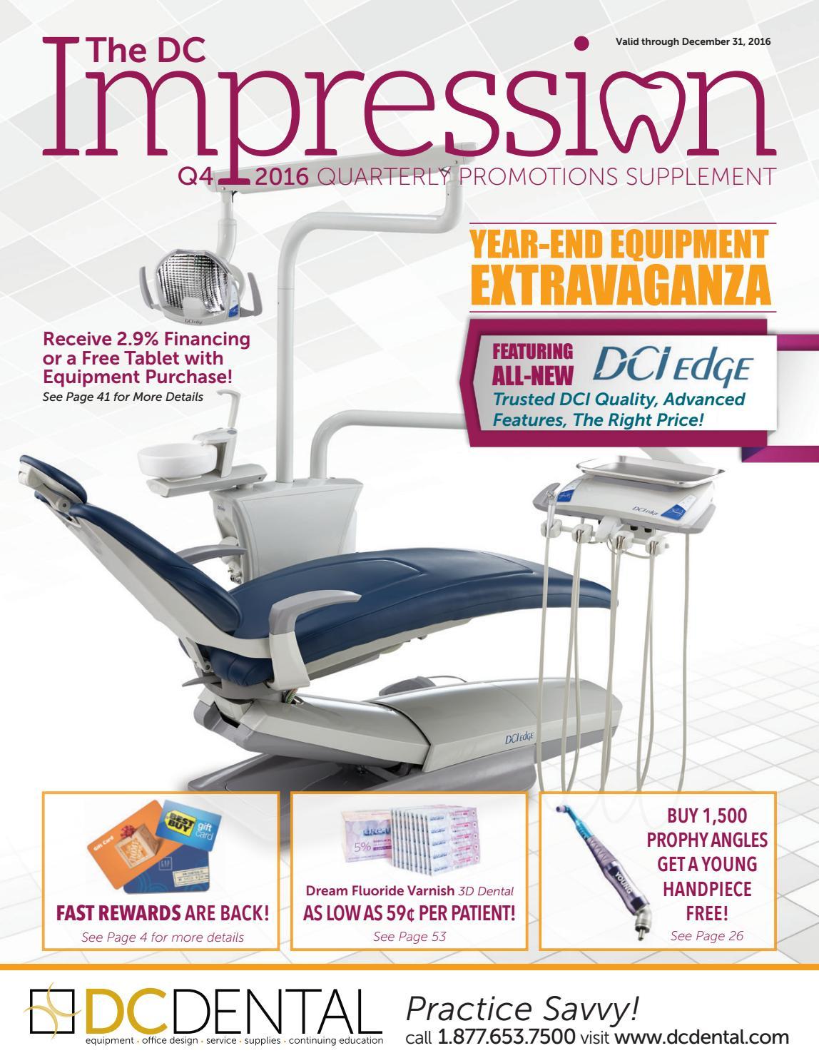 Q4 2016 DC Impression by DC Dental - issuu