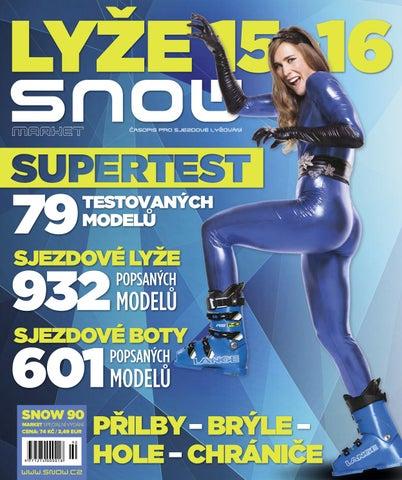 SNOW 90 Market - speciál o vybavení 2015 2016 by SNOW CZ s.r.o. - issuu 985b11cf75
