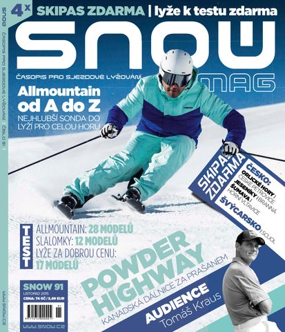 SNOW 91 - listopad 2015 by SNOW CZ s.r.o. - issuu 7541ebe048