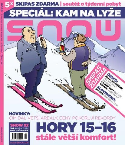 SNOW 92 time - speciál o zimní dovolené 2015 2016 by SNOW CZ s.r.o. ... b30dae037d