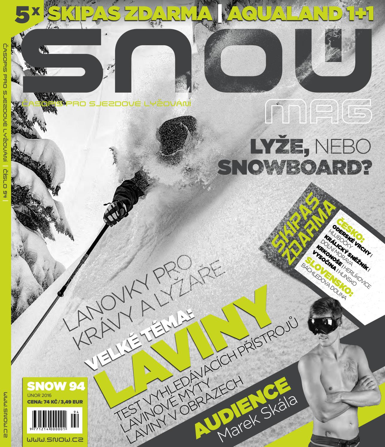 673182a48bb SNOW 94 - únor 2016 by SNOW CZ s.r.o. - issuu