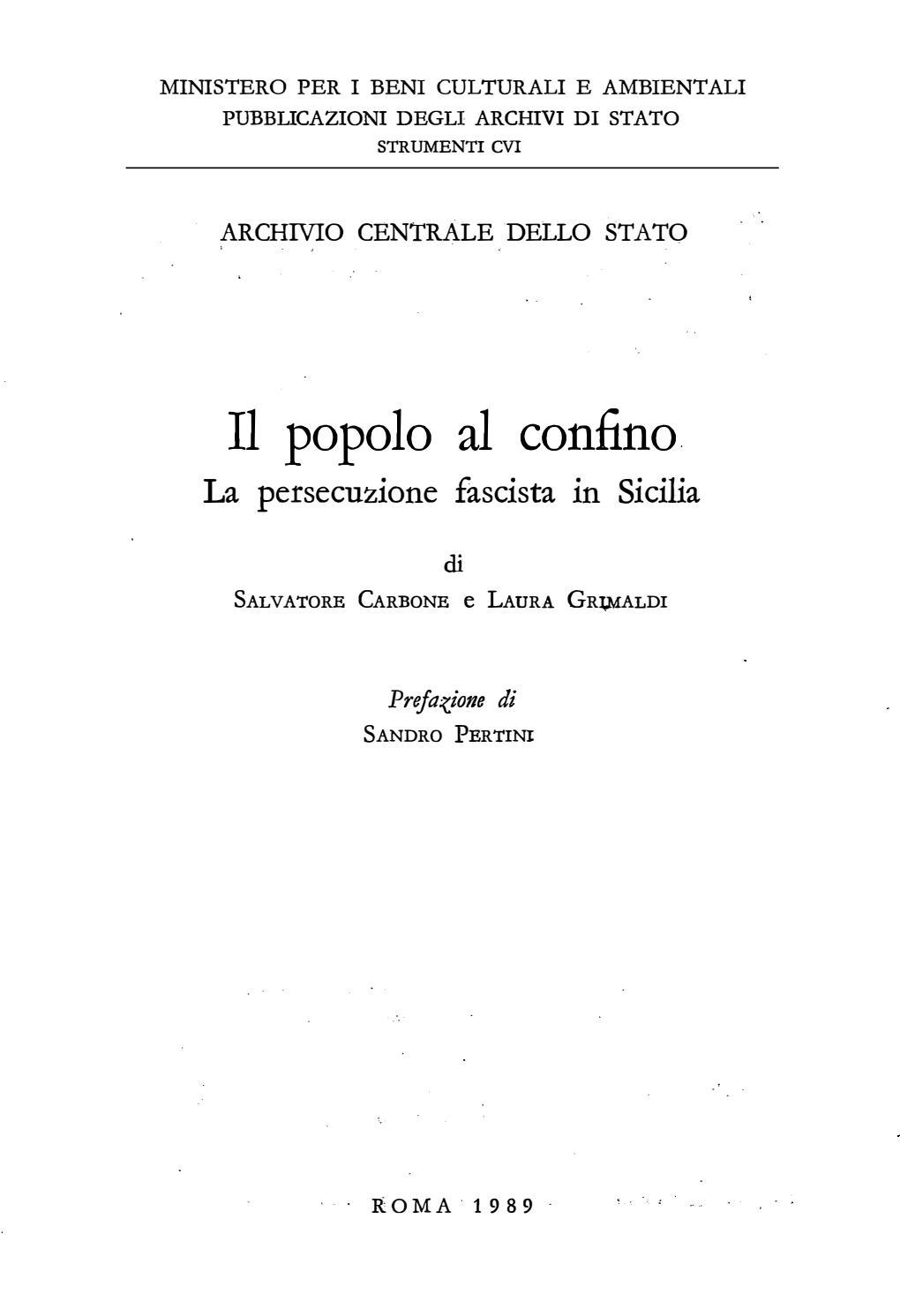 I Sarti Italiani Montelepre il popolo al confino by carlo ciacomarra - issuu