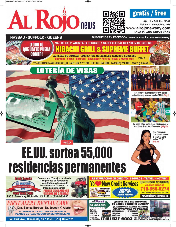 Al Rojo News año II edición 67 by Jose Rivas - issuu