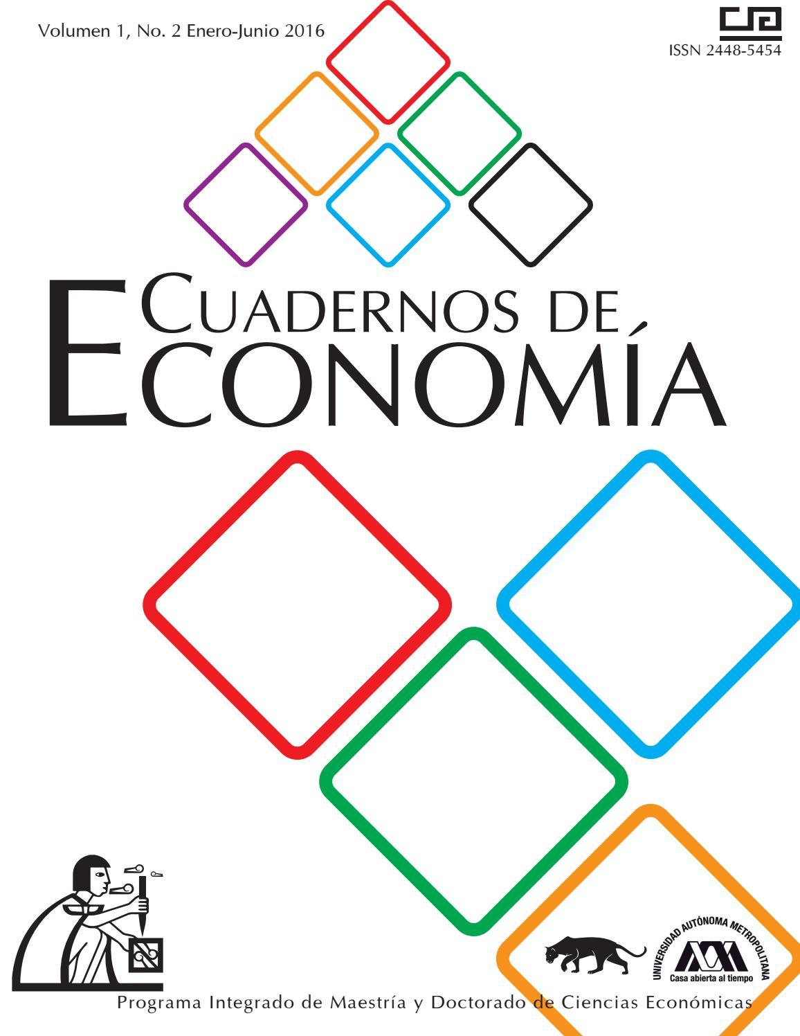 Cuadernos de Economía Volumen 1 No 2 by Cuadernos de Economía - issuu