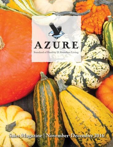 7931300a09 2016 November-December Azure Sales Magazine by Azure Standard - issuu