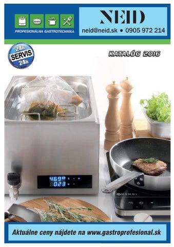 Gastro zariadenie komplexná ponuka pre Vašu kuchyňu. by Neid1 - issuu cfe33d2b8a6