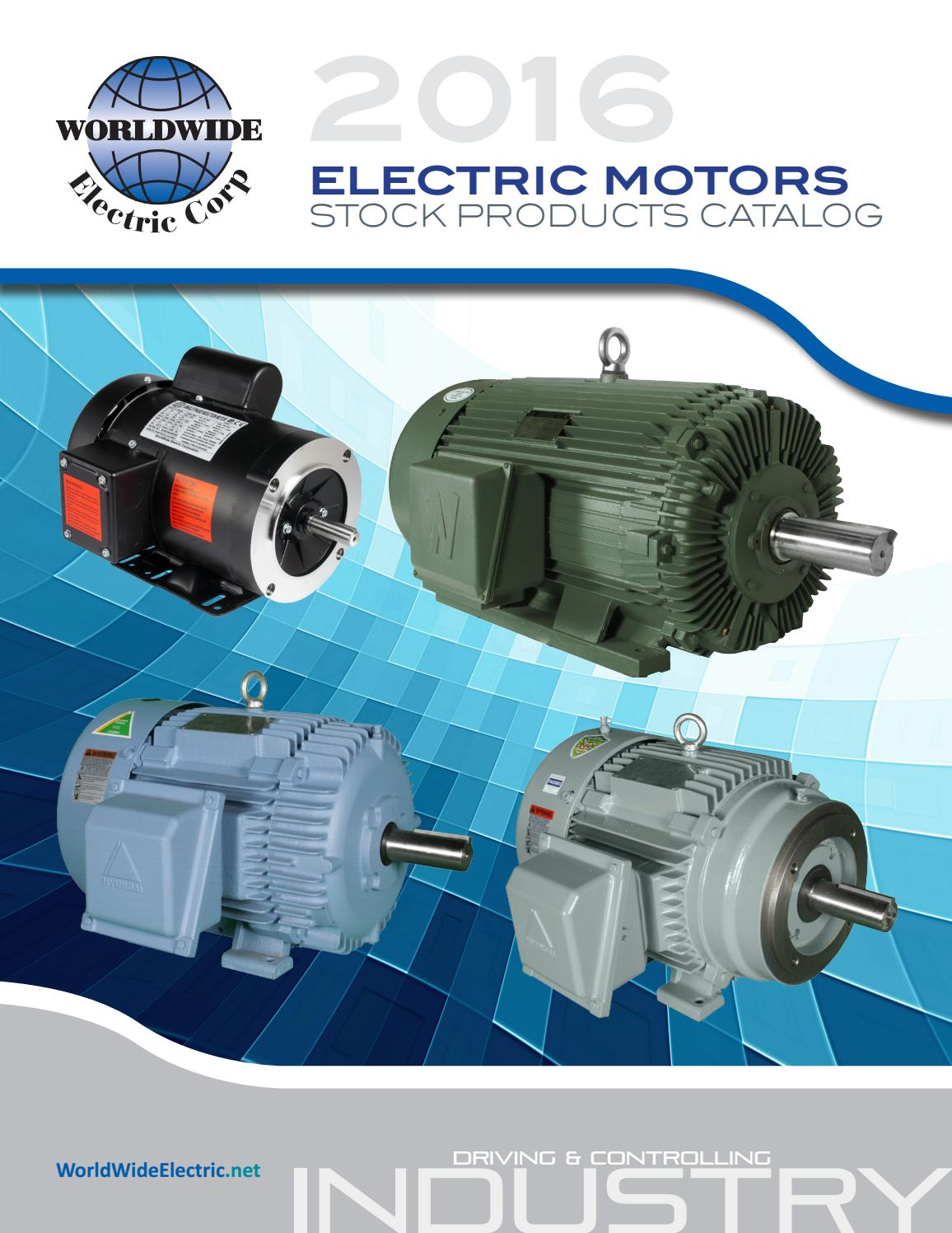 Electric Motors Stock Products by Shaum Electric - issuu