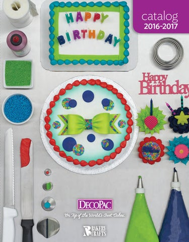 20162017 DecoPac Catalog by DecoPac issuu