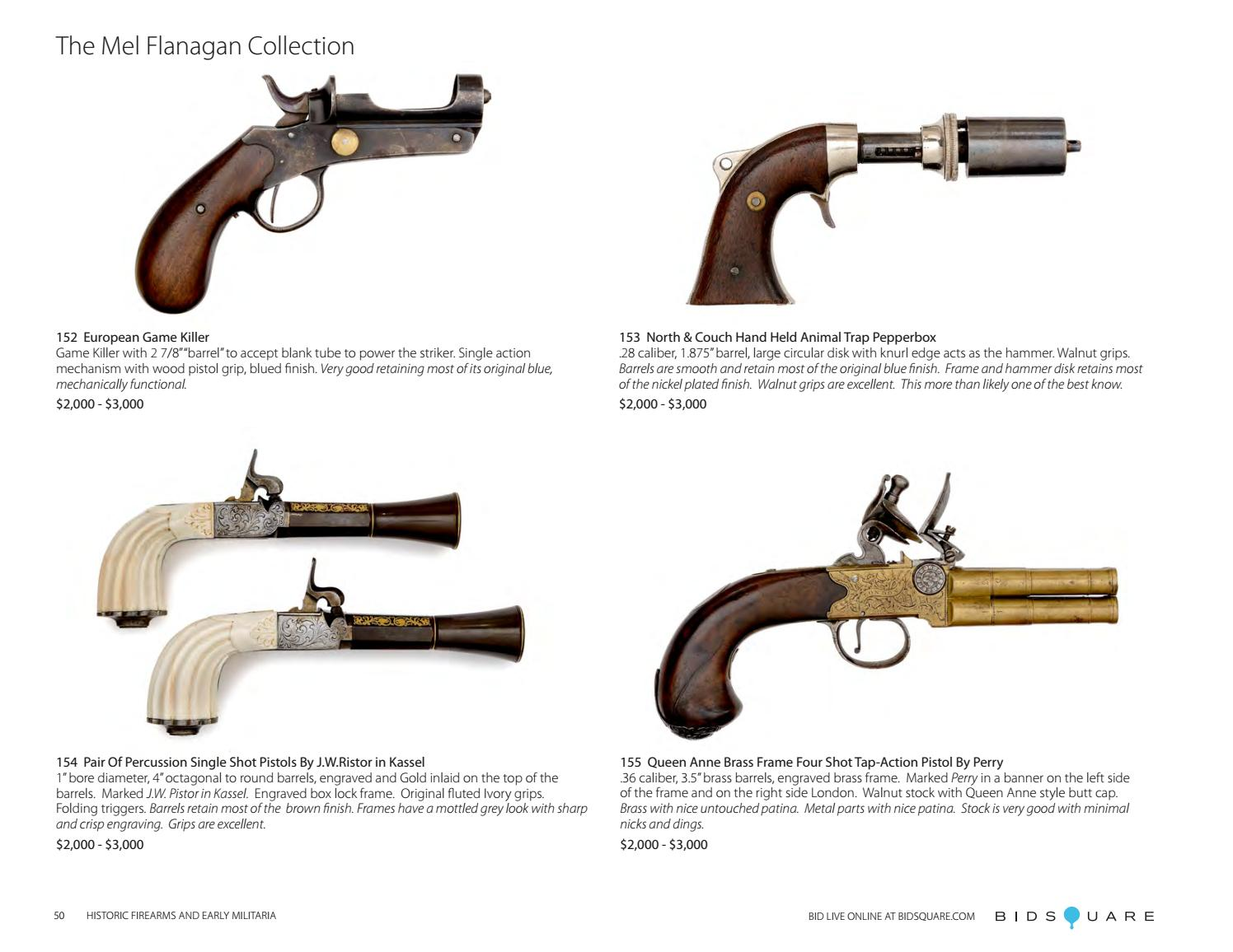 Historic Firearms and Early Militaria by Cowan's Auctions - issuu