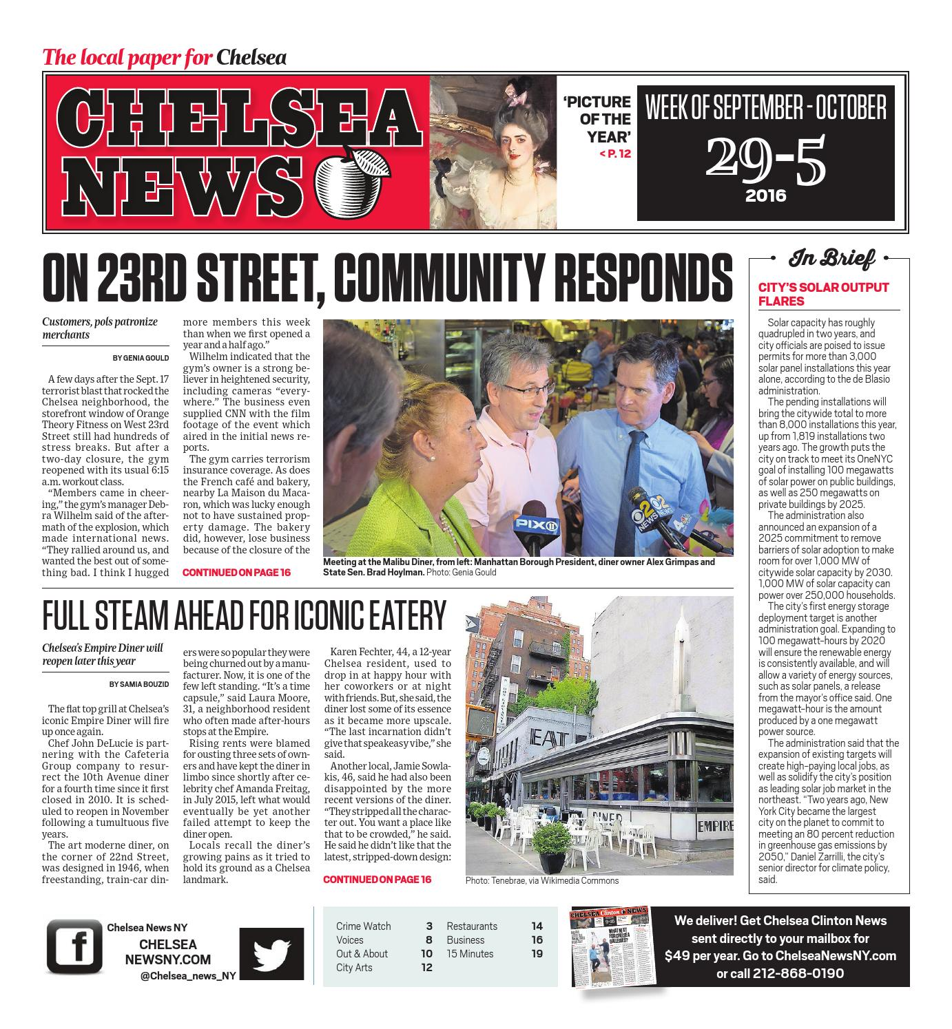 Chelsea News September 29 2016 By Chelsea News Ny Issuu