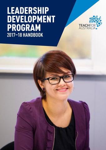 Teach For Australia's Leadership Development Program