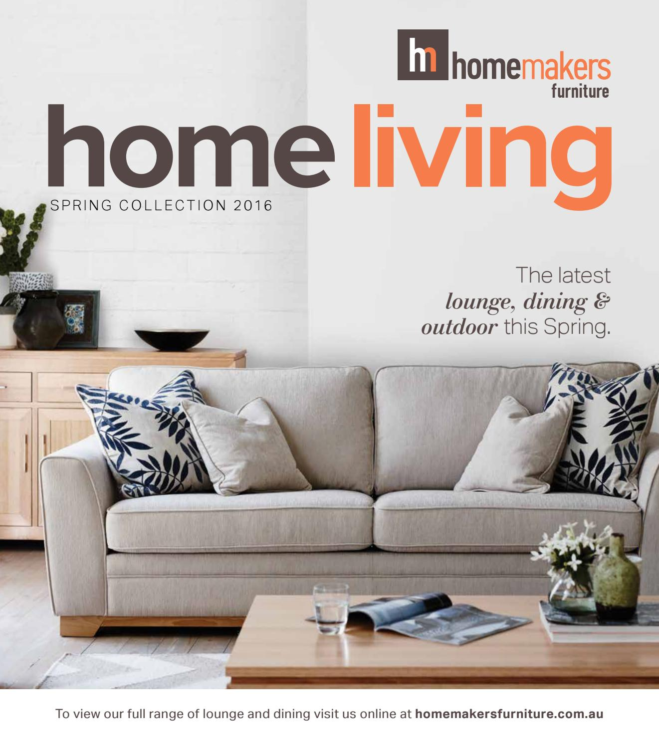 Furniture Catalogues: Homemakers Spring Home Living Catalogue (VIC) By