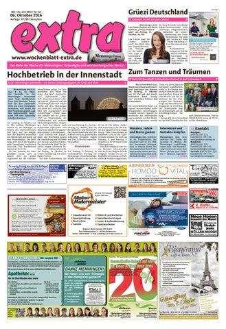 extra Memmingen vom Donnerstag, 6. Oktober by rta.design GmbH - issuu