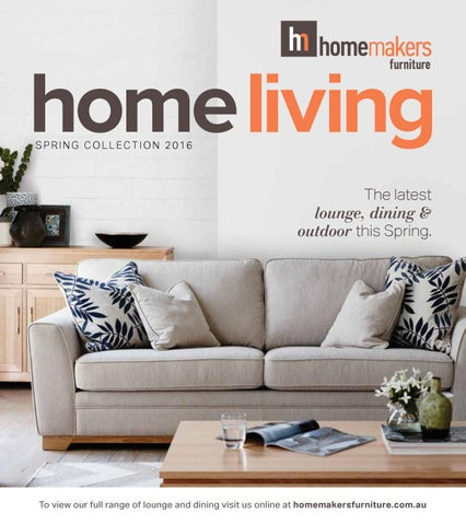 Homemakers Furniture Spring Home Living Catalogue Sa By Homemakers