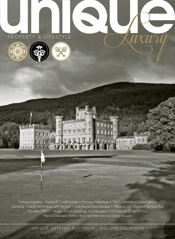 94046a7be38c Unique Luxury Magazine - Volume 14 by Unique Estates Australia - issuu