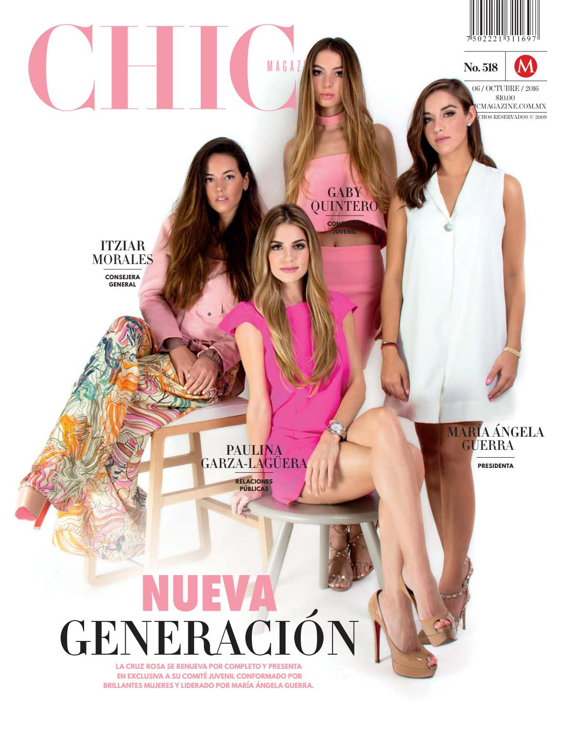 Chic Magazine Monterrey, núm. 518, 06/oct/2016 by Chic Magazine ...