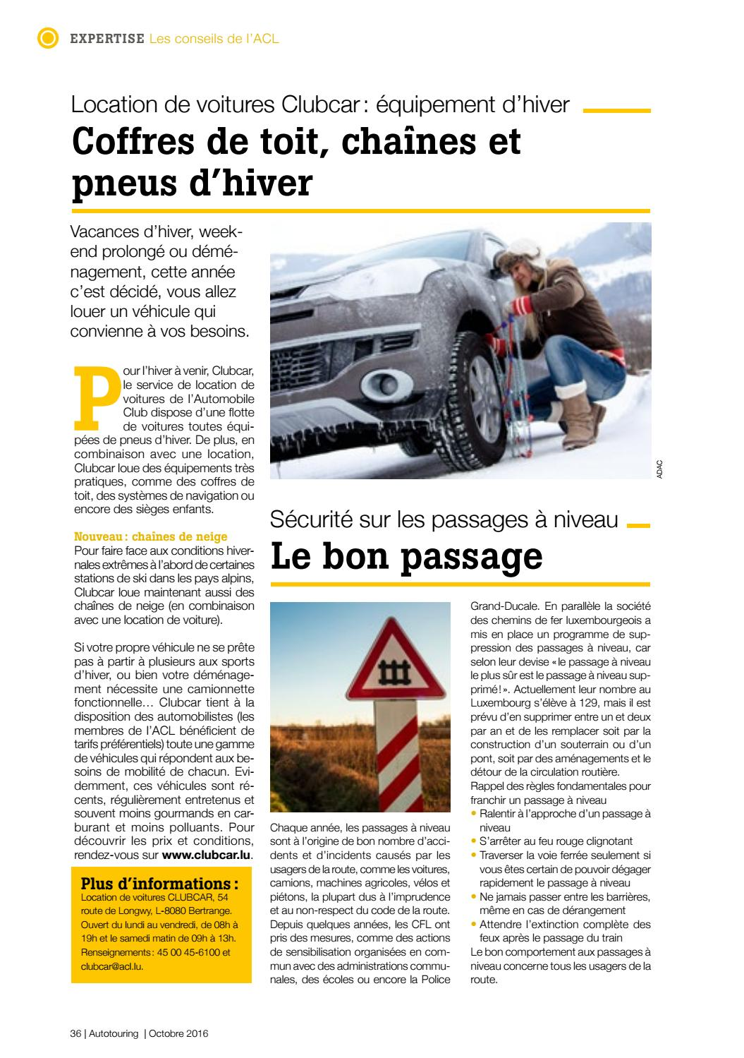 Autotouring Octobre 2016 By Acl Issuu