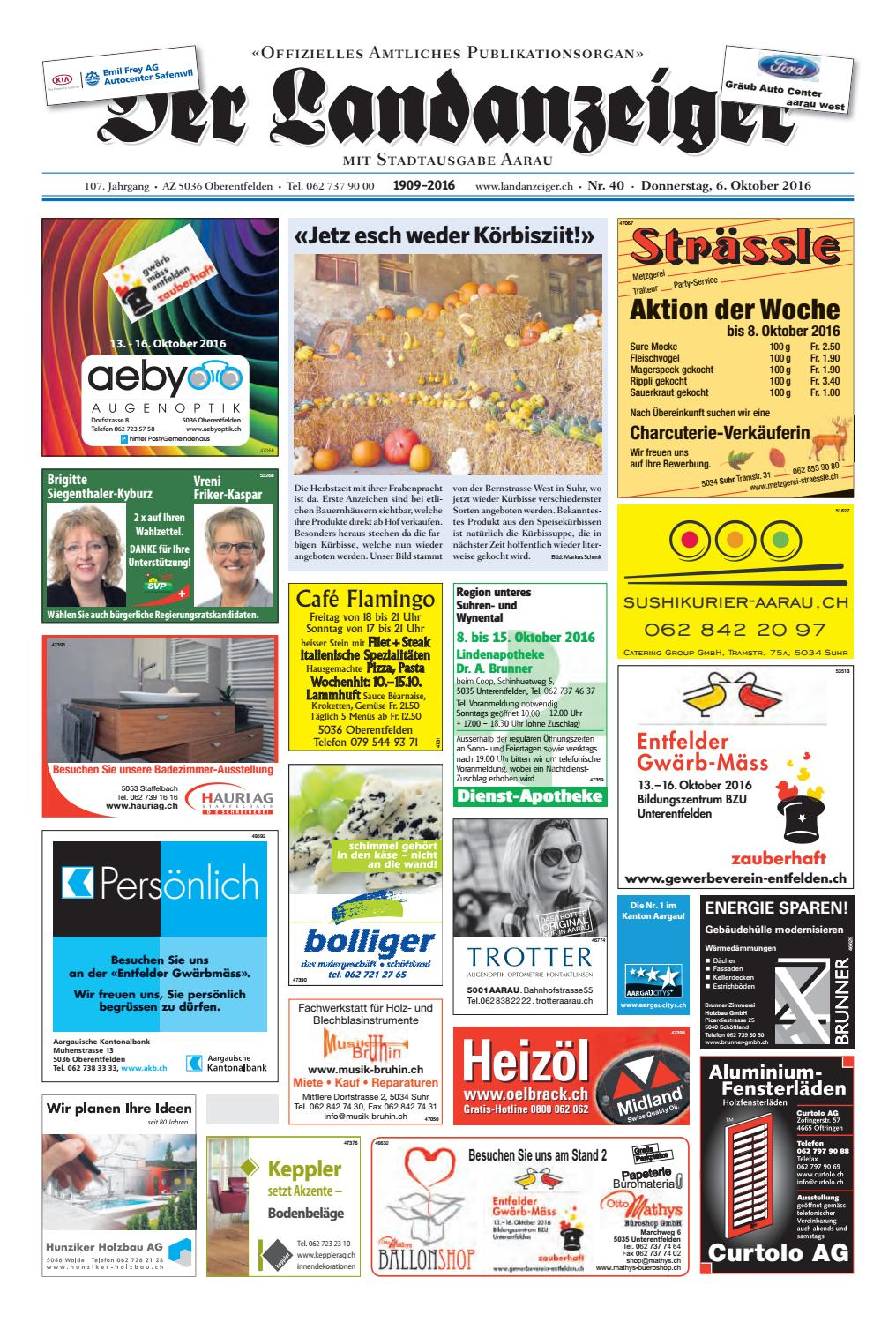 Der Landanzeiger 40 16 By ZT Me N AG Issuu