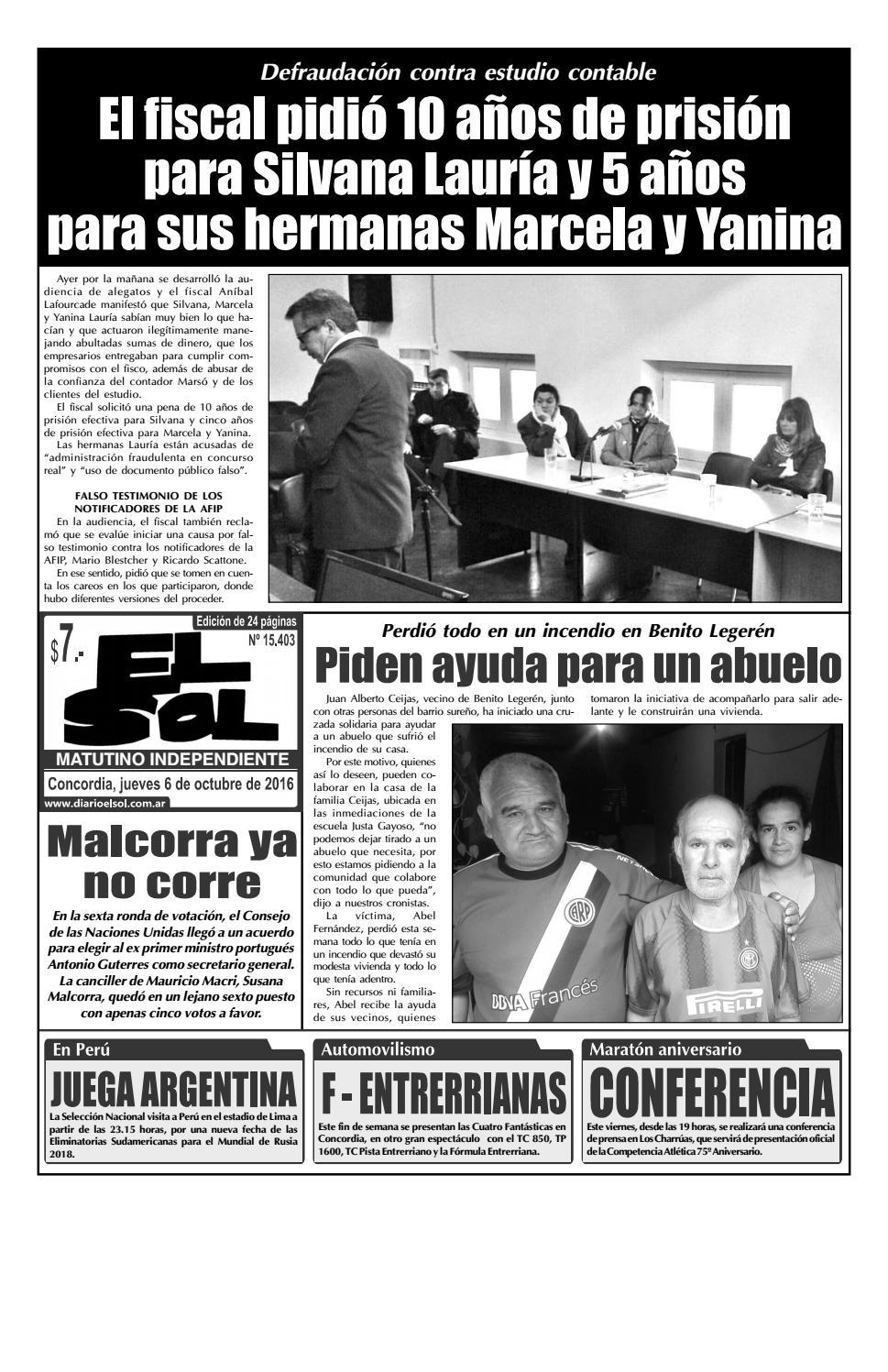 Diario El Sol (Jueves 06 octubre 2016) by Diario El Sol - issuu f31b01ea5f1f8